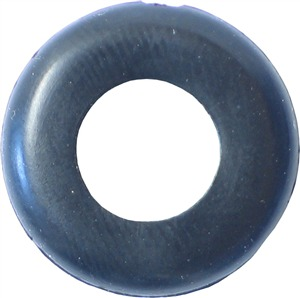 Woodshield Black PVC Grommet