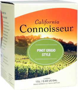 California Connoisseur Pinot Grigio Wines Kit 1.5 litre