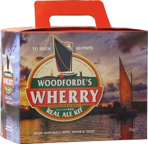 Woodfordes Wherry Beer Kit 3.0 kg