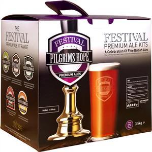 Festival Premium Ale Pilgrims Hope Dark Bitter Beer Kit 3.5 kg