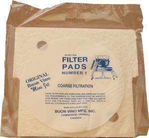 Buon Vino Coarse Pads for Minijet Filter [No.1] (3s)