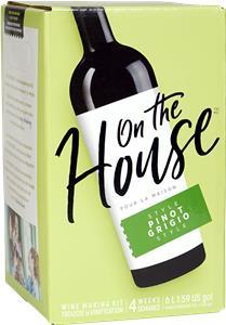 On The House Pinot Grigio Wines Kit 30 bottle