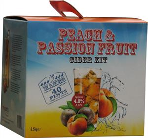 Youngs Peach and Passion Fruit Cider Beer Kit 3.5 kg