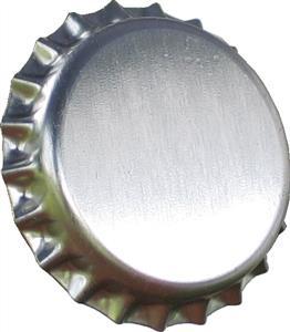 Crown Caps Silver Crown Caps (45s)