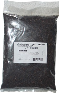 Goldsword Grains Black Malt 500 g