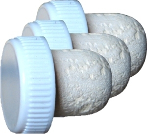 Corks Flanged Plastic Topped Cork [white]  (100s)