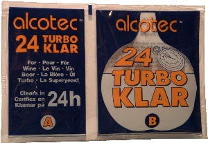 Alcotec Turbo Klar - 24 hour finnings