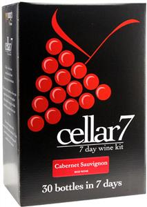 Cellar 7 Cabernet Sauvignon Wines Kit 30 bottle