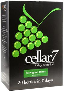 Cellar 7 Sauvignon Blanc Wines Kit 30 bottle