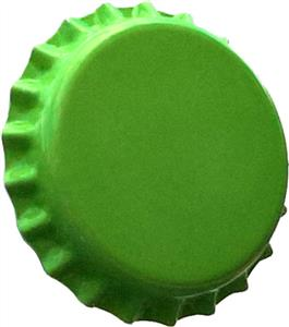 Crown Caps Lime Green Crown Caps (45s)