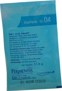 Fermentis Ale Yeast Safale S-04 11.5 g