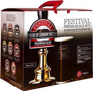 Festival Premium Ale Pride Of London Porter Beer Kit 3.6 kg