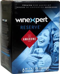 Winexpert Reserve Italian Amarone Style Wines Kit 30 bottle