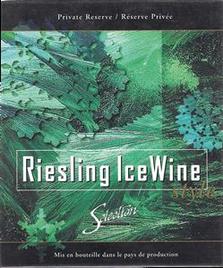 Selection Labels Gummed Riesling lce Wine (30s)