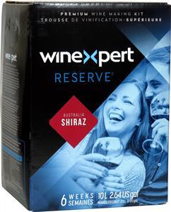 Winexpert Reserve Australian Shiraz Wines Kit 30 bottle