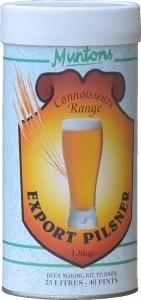 Muntons Connoisseurs Export Pilsner Beer Kit 1.8 kg