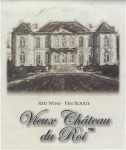 Unbranded Labels Self Adhesive Vieux Chateau du Roi (30s)