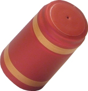 Shrink Caps Shrink Cap [red + gold stripe] (30s)