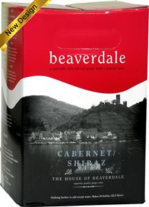 Beaverdale Cabernet Shiraz Wines Kit 30 bottle