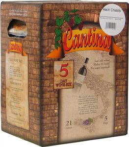 Cantina Gold Peach Chablis Wines Kit 7 kg