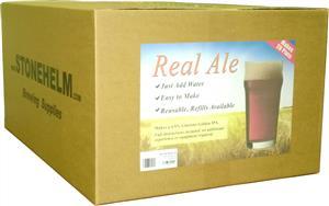 Stonehelm Beer Making Starter Kit: Real Ale 20 pt