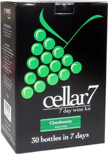 Cellar 7 Chardonnay Wines Kit 30 bottle