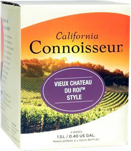 California Connoisseur Vieux Chateau Du Roi Wines Kit 1.5 litre