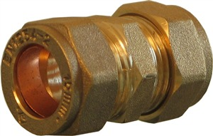 Beer Line 15mm Compression Coupler