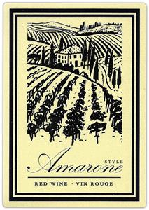 Unbranded Labels Self Adhesive Amarone Style (30s)