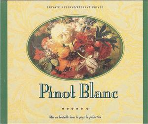 Unbranded Labels Gummed Pinot Blanc (30s)