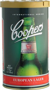 Coopers European Lager Beer Kit 1.7 kg