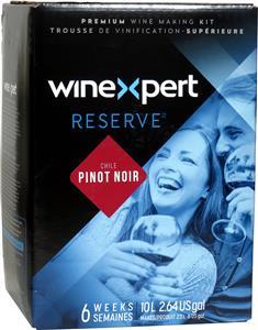 Winexpert Reserve Chilean Pinot Noir Wines Kit 30 bottle