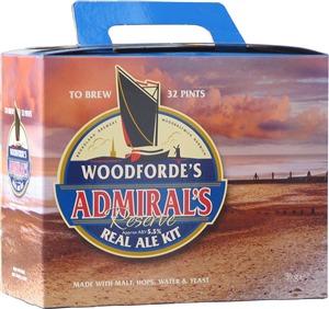 Woodfordes Admiral's Reserve Beer Kit 3.0 kg