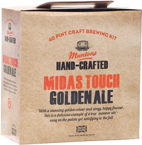 Muntons Hand Crafted Midas Touch Golden Ale Beer Kit 3.6 kg
