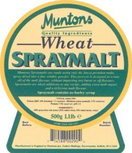 Muntons Spraymalt Malt Extract, Wheat 500 g