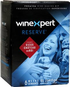 Winexpert Reserve French Vieux Chateau Du Roi Wines Kit 30 bottle