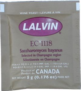 Lalvin Wine Yeast EC-1118 5 g