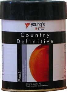 Youngs Definitive Country Peach Wines Kit 900 g