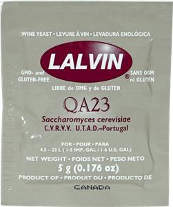 Lalvin Wine Yeast QA23 5 g