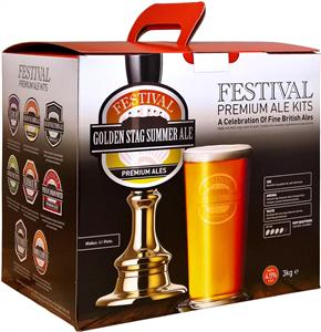 Festival Premium Ale Golden Stag Golden Ale Beer Kit 3 kg