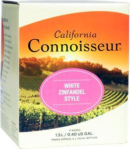 California Connoisseur White Zinfandel (Rose) Wines Kit 1.5 litre
