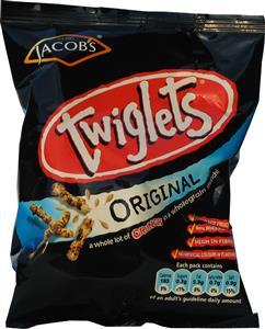 Jacobs Twiglets (6's) 6 x 45g