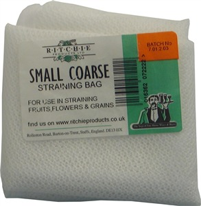Ritchie Nylon Straining Bag (small - coarse)