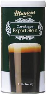 Muntons Connoisseurs Export Stout Beer Kit 1.8 kg