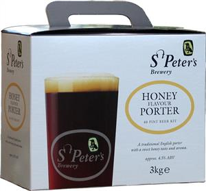 St Peters Honey Porter Beer Kit 3.0 kg