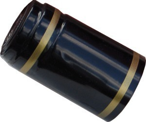Shrink Caps Shrink Cap [black + gold stripe] (30s)