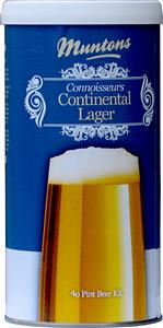 Muntons Connoisseurs Continental Lager Beer Kit 1.8 kg