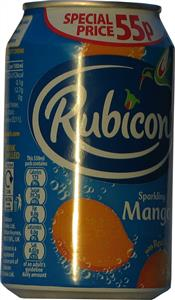 Rubicon Sparkling Mango (4s) 4 x 330ml