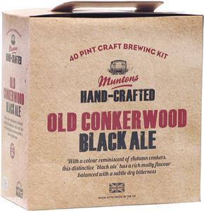 Muntons Hand Crafted Old Conkerwood Black Ale Beer Kit 3.6 kg