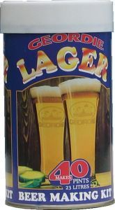 Geordie Lager Beer Kit 40 pt